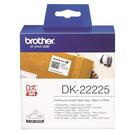 【高士資訊】BROTHER 38mm DK-22225 耐用型紙質 白底黑字 原廠 連續 標籤帶