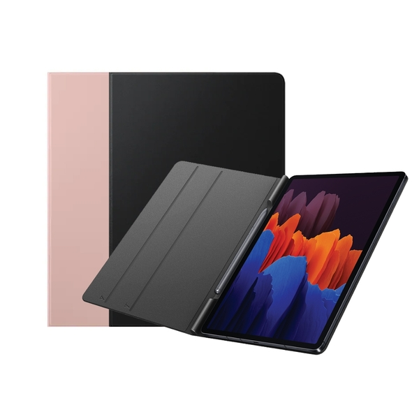 【SAMSUNG 】 Galaxy Tab S7專用 書本式皮套 EF-BT870 銀色【三星原廠盒裝】
