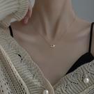 項鍊 925純銀蝴蝶項鍊女2021年新款小眾設計感2021ins冷淡風簡約鎖骨鍊 晶彩 99免運