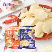 韓國 HAITAI 海太 洋芋片 60g 餅乾 韓國餅乾 calbee 鮮蝦洋芋片 鯛魚洋芋片 團購