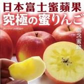 【果之蔬-全省免運】日本富士XL蜜蘋果X46顆/原箱(4.5KG/每顆250克±10%)