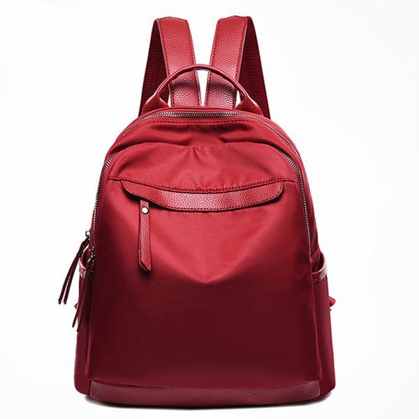 後背包 女韓版帆布新款百搭時尚牛津布休閒戶外旅行背包 DN5417【VIKI菈菈】