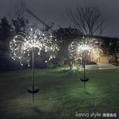 太陽能地插煙花燈led銅線燈蒲公英燈串 庭院草坪燈 聖誕裝飾燈 聖誕節特惠