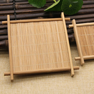 【BlueCat】田園風方形竹墊拍攝道具 拍照背景 (大號)