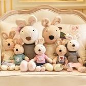 可愛兔公仔毛絨玩具情侶兔玩偶小兔子寶寶安撫睡覺抱布娃娃萌女生安撫玩偶·樂享生活館
