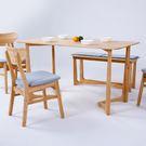 優質實木,北歐風格,穩固實用,此商品為單賣餐桌