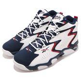 Reebok 籃球鞋 Mobius OG MU 白 藍 深藍 麂皮 皮革鞋面 運動鞋 男鞋【PUMP306】 CN7885