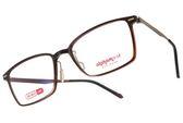 Alphameer 光學眼鏡 AM3602 C97 (棕) 記憶塑鋼簡約方框款 平光鏡框 #金橘眼鏡