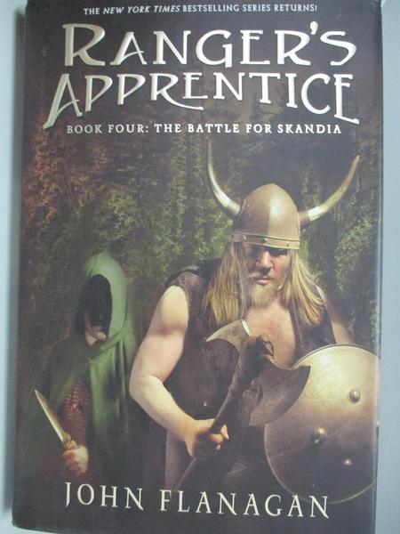 【書寶二手書T1/原文小說_DKI】The Battle for Skandia: Book 4_Flanagan, John