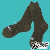 【PolarStar】羊毛保暖雪襪『橄欖綠』P17610 露營.戶外.登山.保暖襪.彈性襪.紳士襪.休閒襪