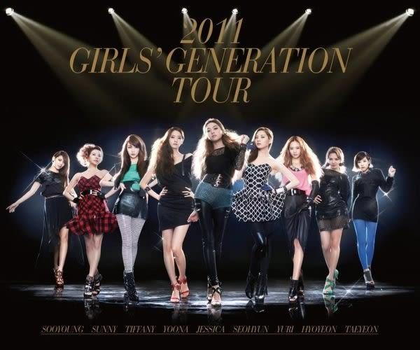 少女時代 2011 GIRLS' GENERATION TOUR 雙CD  (購潮8)