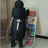 全館88折-雜誌架兒童書架 鐵藝寶寶繪本架幼兒書報架6層展示落地書架收納簡易書櫃wy