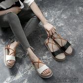 厚底鬆糕鞋簡約2018夏季新款韓版涼鞋