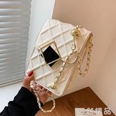 小包包新款潮百搭錬條包女夏季小眾設計斜挎小方包手機包 可然精品