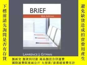 二手書博民逛書店Principles罕見Of Managerial Finance Brief Plus Myfinancelab