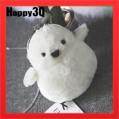 生日禮物萌萌可愛毛絨療癒治癒白色娃娃小雞包手提包後背包側背包-小雞【AAA1129】預購