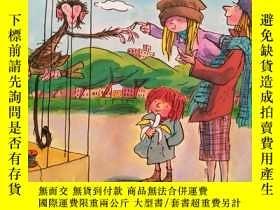 二手書博民逛書店英文原版罕見繪本 Manky Monkey - Tony Ross作品 童書Y264645 Jeanne Wi