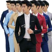 西裝外套男 小西裝男修身休閒薄款季外套單件男士西服上衣青年韓版潮流帥氣 俏腳丫