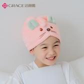 潔麗雅干髮帽女可愛吸水速干兒童成人擦頭髮毛巾包頭巾干髮巾浴帽聖誕節免運