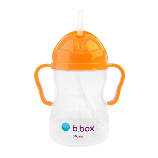 【澳洲b.box】防漏學習水杯(240ml)-亮橘
