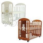 L.A. Baby 加州貝比卡羅萊納嬰兒床/搖擺床/兒童中床(不附床墊)