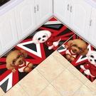 家用3D廚房玄關地毯地墊吸水進門腳墊門墊浴室墊房間臥室床邊毯 618購物節 YTL