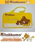 車之嚴選 cars_go 汽車用品【RK-115】日本進口 Rilakkuma 懶懶熊 拉拉熊 橫式面紙盒套(可吊掛車內頭枕)