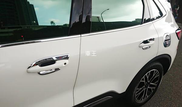 【車王汽車精品百貨】福特 FORD 2020 KUGA STLINE 樣式 全包覆式 防刮 門碗 把手 裝飾框 保護蓋