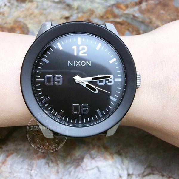 NIXON 實體店The Corporal 型男腕錶A346-2541公司貨/潮流/大錶徑/極限運動/禮物