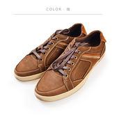ORWARE-牛仔復古刷色休閒鞋 622110-23咖
