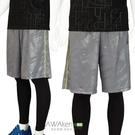 男款 籃球褲 Hi-Cool超快速吸排 休閒短褲 運動短褲 豹紋灰