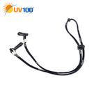防曬 抗UV UV100便利防風帽繩