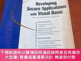 二手書博民逛書店Developing罕見secure Applications with visual basic.Y2037