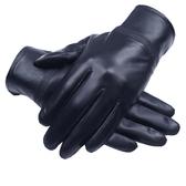 保暖手套 真皮手套男士女士冬季加絨加厚保暖綿羊皮手套騎行開車摩托車薄款 免運 CY