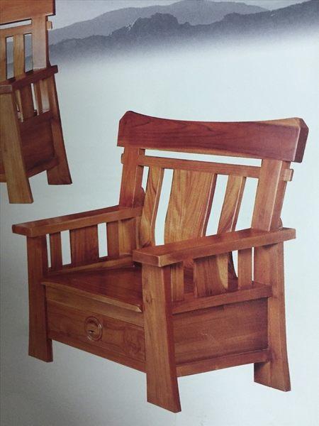 【新精品】KL-09 柚木英式組椅 需搭配車趟費