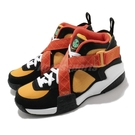 Nike 籃球鞋 Air Raid Raygun 黑 黃 復古 男鞋 女鞋 魔鬼氈 綁帶設計【ACS】 DD9222-001