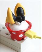 Hamee 日本迪士尼聯名 米妮 USB轉接插頭 AC充電器 變壓器 屁屁款 該該貝比日本精品 ☆