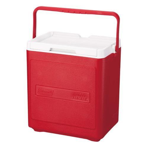 [好也戶外]Coleman 17L 置物型冰桶/紅/No.CM-1321JM000