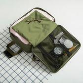 手提包 旅行袋單肩男女斜挎登機行李包箱旅游多功能出門短途旅行包 鹿角巷