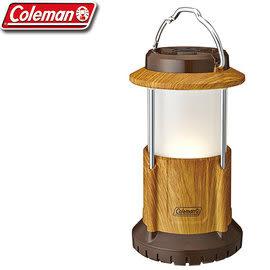 【偉盟公司貨】丹大戶外【Coleman】美國 BATTERYLOCK PACKAWAY營燈 天然木紋 CM-31275