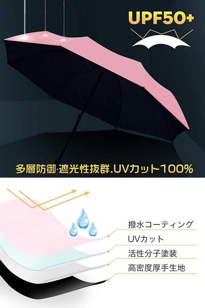 【日本代購-現貨】Toplus (Adoric) 折疊傘 超輕 183g 遮擋UV率 99%遮熱 晴雨兩用 淡粉