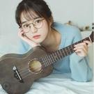 烏克麗麗 柏聆23寸單板烏克麗麗初學者成人女男烏克麗麗小吉他 DF 全館免運 雙12