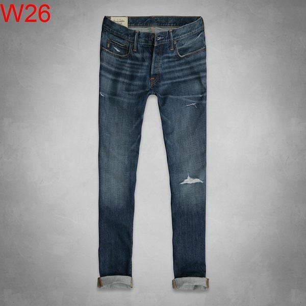 AF Abercrombie & Fitch A&F A & F 男 skinny 單寧 牛仔褲 當季最新現貨 AF W26
