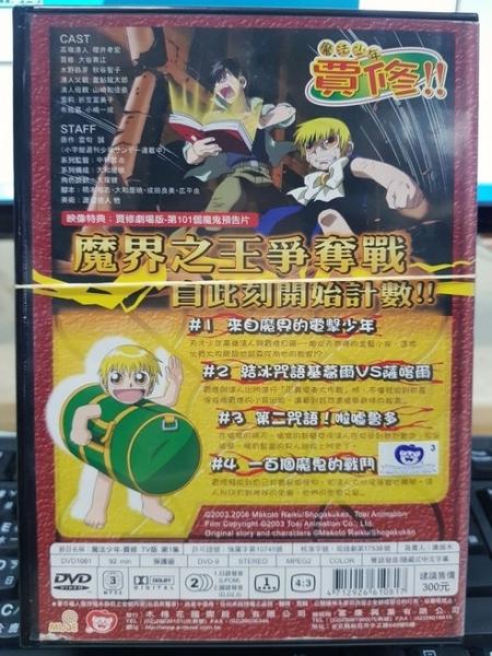 挖寶二手片-B04-038-正版DVD-動畫【魔法少年賈修 01-13】-套裝 國日語發音