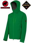 丹大戶外【MAMMUT】瑞士長毛象 Marangun Jacket 男防風防水保暖外套 1010-16050-4000 綠