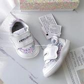 《7+1童鞋》日本 IFME 小清新 寶寶機能 學步鞋 E447 白色