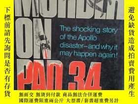 二手書博民逛書店Murder罕見on Pad 34有 粘貼藏書票一張 孤本Y10