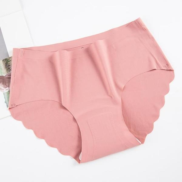 五折特惠 熱款泰國天然乳膠內褲女士乳膠底檔裸貨中腰冰絲無痕內褲女三角褲