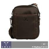 VOVA 沃汎 側背包 懷念棕 羅馬系列直式斜背包-小 VA115S05BR   MyBag得意時袋