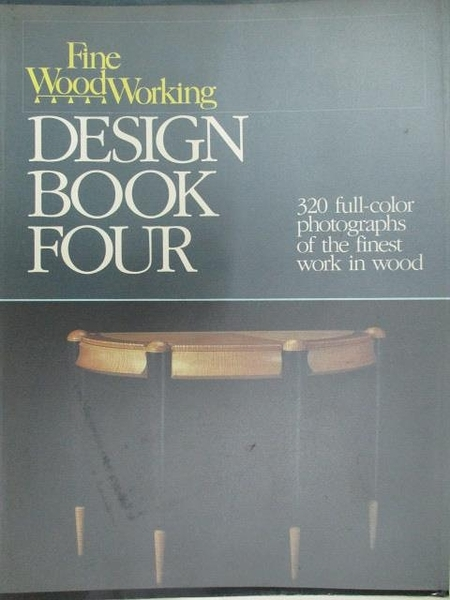 【書寶二手書T2/設計_DOM】Fine Woodworking Design Book Four